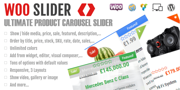 Woo Slider Ultimate Woo Commerce Product Slider