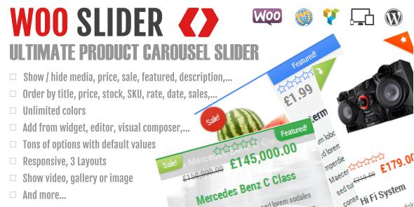 Woo Slider Ultimate Woo Commerce Product Slider