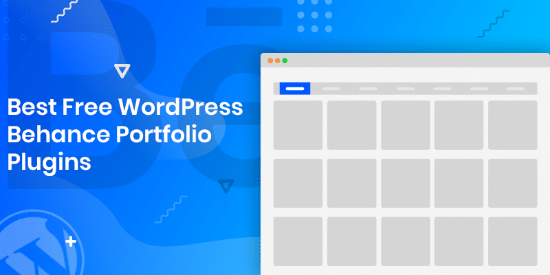 Best Free WordPress Behance Portflio plugins