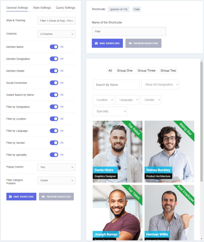 Create New Shortcode
