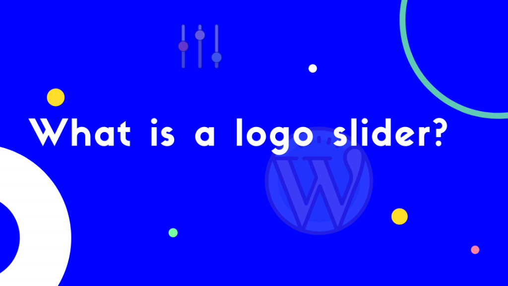 What is a logo slider?